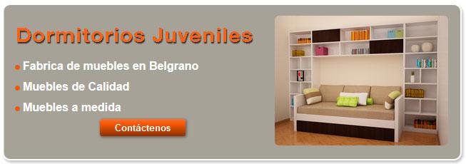 Dormitorios juveniles modernos for Muebles juveniles la plata
