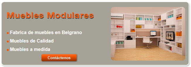 Muebles modulares caba for Muebles sillones capital federal