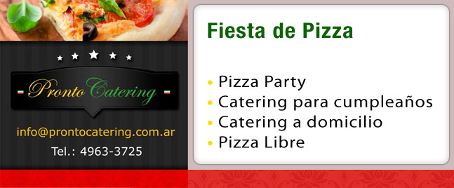 fiesta catering, party fiestas, fiesta de pizza, catering para fiestas, comida para fiestas, comida mexicana para fiesta, servicios de comida para fiestas, menu mexicano para fiestas,