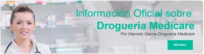 Estas interesado en leer más informacion de Marcelo Garcia de Drogueria Medicare