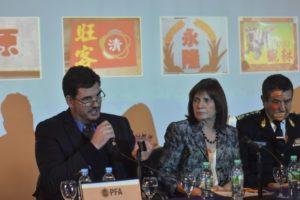 Juan Patricio Furlong da los detalles del acuerdo por la seguridad