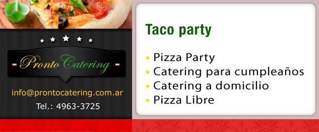 tacos mexicanos, comida mexicana capital federal, comida mexicana zona norte, taco delivery, taco party, catering mexicano, comida artesanal mexicana, servicio de tacos a domicilio,