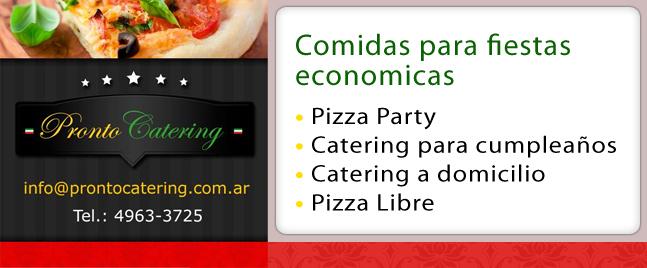 comidas frias para cumpleaños adultos, comidas para fiestas de 15 años, comida sencilla para fiesta, pizza party capital, pizza party zona sur,