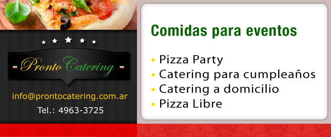 catering menu, cumpleaños pizza, catering de pizzas precios